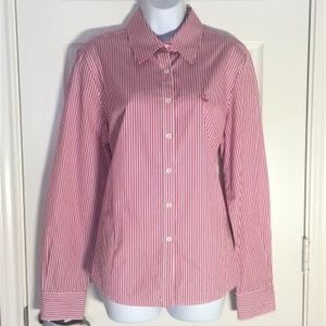 Faconnable Button Down Stripe Shirt